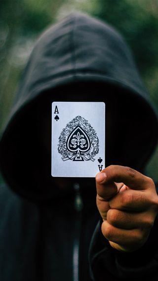 Обои на телефон туз, покер, анонимус, aceofspade, ace of spade
