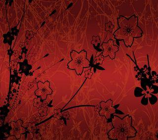 Обои на телефон отлично, шаблон, цветы, стена, прекрасные, красые