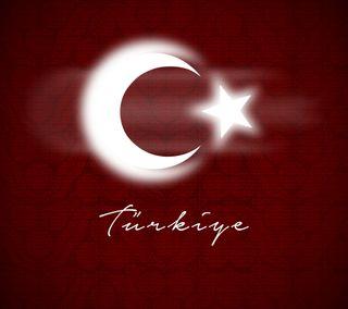 Обои на телефон турецкие, лунная звезда