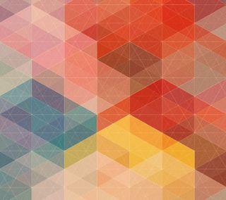 Обои на телефон теплые, мягкие, пастельные, красые, абстрактные, squren 2, angles