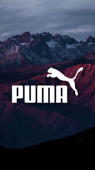 Обои на телефон пума, минимализм, логотипы, горы, бренды, puma