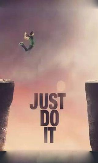 Обои на телефон киллер, судьба, прыгать, просто, отношение, оно, мальчик, горы, power, just do it