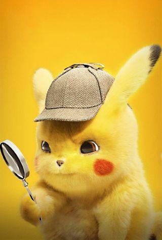 Обои на телефон пикачу, фильмы, покемоны, аниме, detective pikachu
