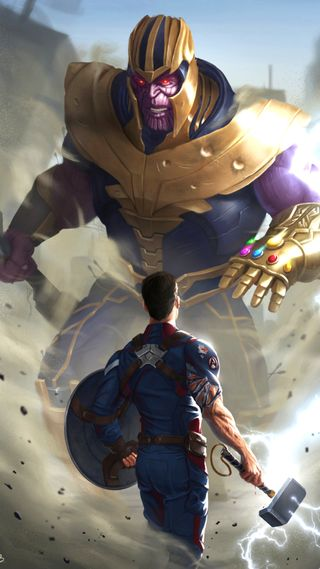 Обои на телефон финал, фантазия, фильмы, танос, мстители, герой, америка