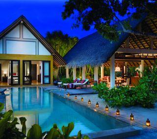 Обои на телефон dream home, pool, тропические, рай, мечта, дом, курорт, особняк