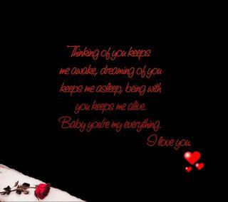 Обои на телефон ты, мышление, малыш, любовь, живой, thinking of you, love, everything, dreaming, awake, asleep
