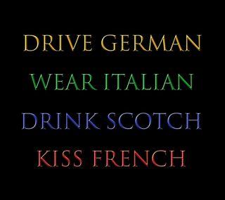Обои на телефон шотландия, германия, цитата, цветные, франция, поговорка, италия, забавные, арт, art