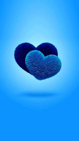 Обои на телефон валентинка, ты, синие, сердце, розовые, любовь, грани, love, i love you