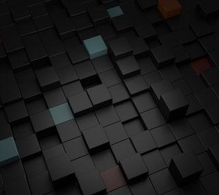 Обои на телефон куб, коробка, квадратные, абстрактные, cubic, 3д, 3d