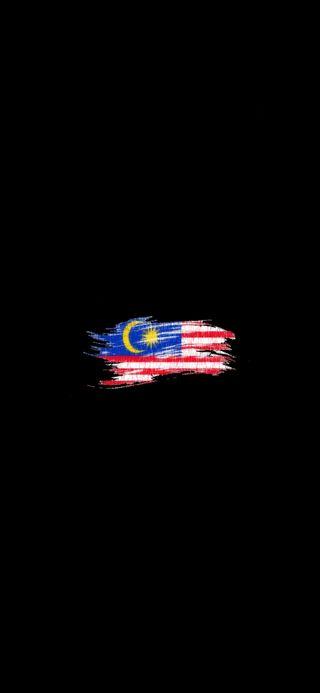 Обои на телефон флаг, малайзия, malaysiaku, bendera malaysia