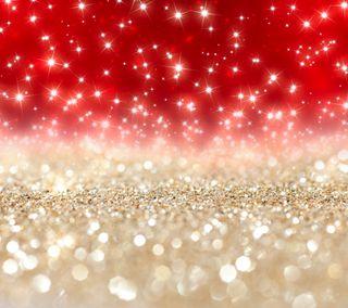 Обои на телефон сияние, сверкающие, рождество, красые, золотые, звезды, абстрактные, xmas shine, glittery