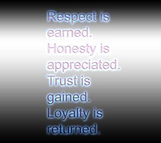 Обои на телефон честный, доверять, цитата, респект, поговорка, новый, loyalty, lifes points, earned