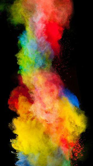 Обои на телефон цветные, абстрактные, 2016
