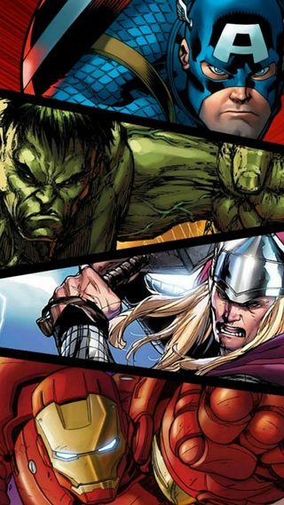 Обои на телефон халк, тор, мстители, капитан, железный, герой, америка, man, avengers - avenger