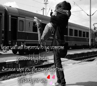 Обои на телефон обнимать, ты, счастливые, пара, навсегда, милые, любовь, день, вместе, love, happy hug day, cute hug