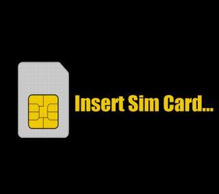 Обои на телефон карты, sim card, insert