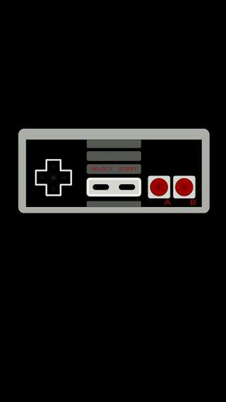 Обои на телефон игровые, черные, супер, ретро, нинтендо, минимализм, геймер, nintendo, nes, controler, 929