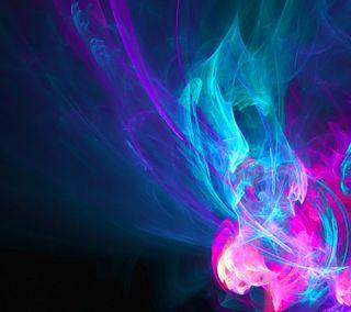 Обои на телефон энергетики, цвет морской волны, фрактал, фиолетовые, синие, свет, розовые, поток, неоновые, крутые, абстрактные, hd, halo, abstract fractal
