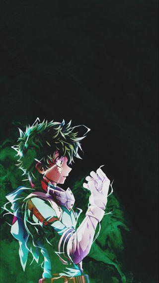 Обои на телефон деку, герой, аниме, mha, deku wallpaper