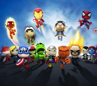 Обои на телефон супергерои, самсунг, дети, галактика, superheroes children, samsung galaxy s4, 2160x1920