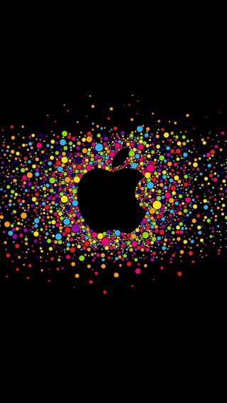 Обои на телефон эпл, microcosm, apple