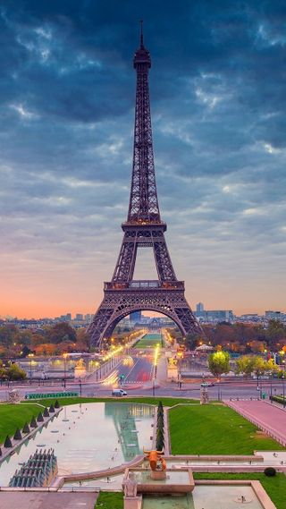 Обои на телефон eiffel-tower-paris, город, париж, башня, эйфелева башня