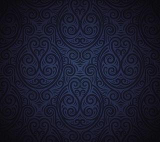Обои на телефон племенные, шаблон, синие, абстрактные, xperia, hd, gs5, gs4