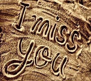 Обои на телефон скучать, ты, i  miss you