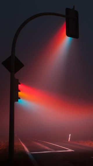 Обои на телефон яркие, цветные, улица, огни, новый, крутые, красочные, дорога, hd