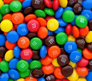 Обои на телефон шоколад, конфеты, m candy