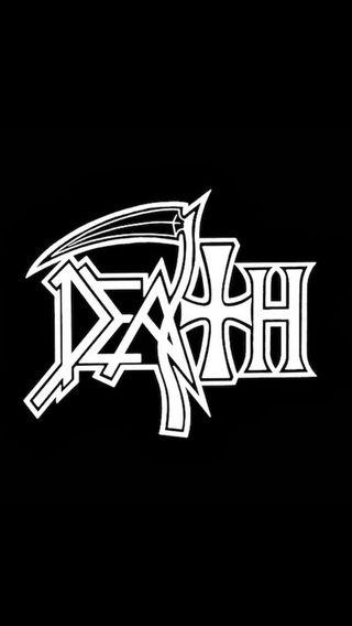 Обои на телефон группа, черные, темные, смерть, рок, металл, логотипы