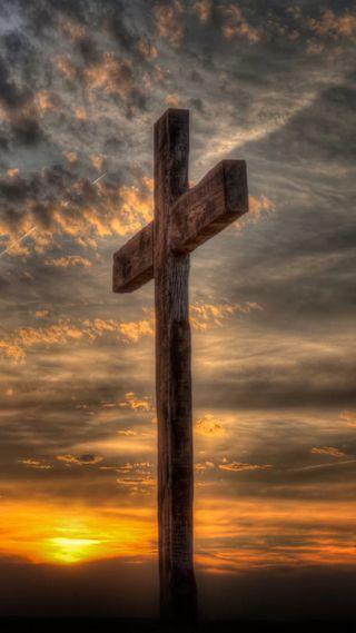 Обои на телефон христос, крест, христианские, облака, небо, исус, закат, духовность, деревянные, бог, wooden cross, son of god