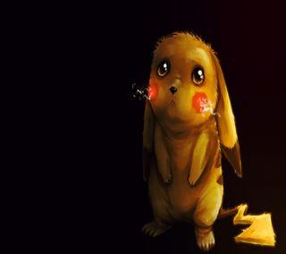 Обои на телефон гром, покемоны, пикачу, персонажи, мультфильмы, желтые, pikachu hd