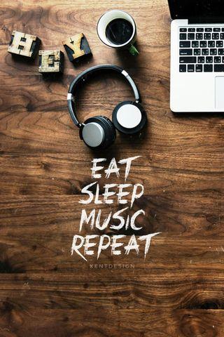 Обои на телефон работа, сон, новый, музыка, звезда, жизнь, ешь, высказывания, repeat, 2020