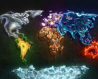 Обои на телефон карта, земля, atlas
