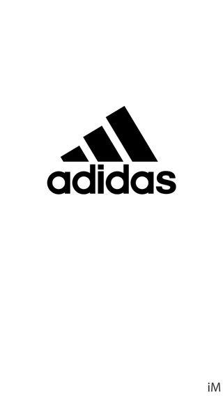 Обои на телефон логотипы, белые, адидас, adidas white logo, adidas