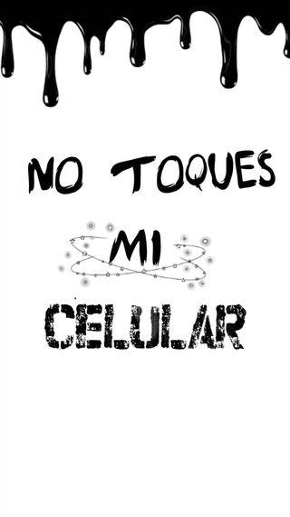 Обои на телефон toques, no lo toques, no, celular, bloqueo