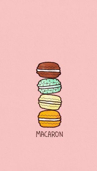Обои на телефон сладости, графика, macaron