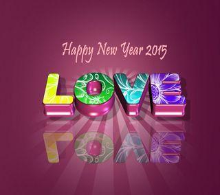 Обои на телефон счастье, счастливые, пожелание, новый, любовь, год, love, happy new year 2015, 2015