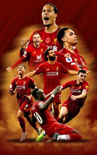 Обои на телефон футбольные клубы, ливерпуль, чемпионы, футбол, reds