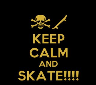 Обои на телефон скейт, спорт, спокойствие, скейтборд, keep calm and skate, keep calm