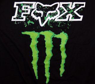 Обои на телефон спорт, логотипы, лиса, бренды, fox monster