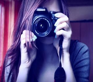 Обои на телефон приятные, камера, девушки