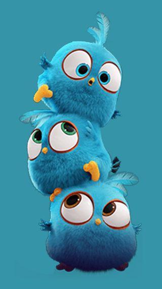 Обои на телефон злые, фильмы, птицы, малыш, забавные, the blues, baby birds, angry birds movie
