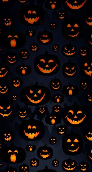 Обои на телефон тыква, хэллоуин, pumpkin wallpaper, orangeglow, blackpumpkin