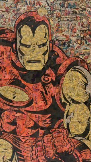 Обои на телефон железный человек, марвел, комиксы, marvel, hombre, historieta, hd, acero