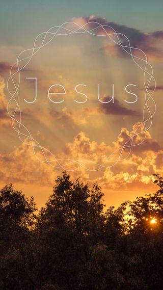 Обои на телефон небеса, фраза, исус, бог, natureza, gospel