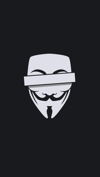 Обои на телефон анонимус, дизайн