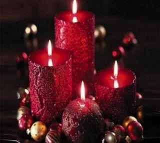 Обои на телефон свечи, цветные, украшение, праздничные, красые, красочные, red candles