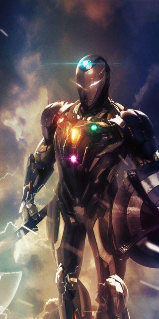 Обои на телефон старк, финал, мстители, месть, конец, игра, железный человек, железный, avengersassemble